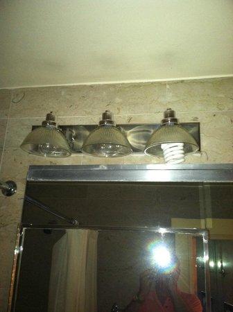Waldorf Astoria New York: Light fixture in the Highly Acclaimed Waldorf Astoria