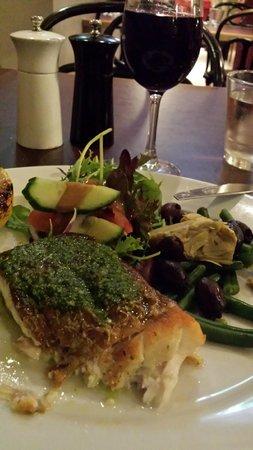 Kitchen at Treasury: Lovely barramundi meal