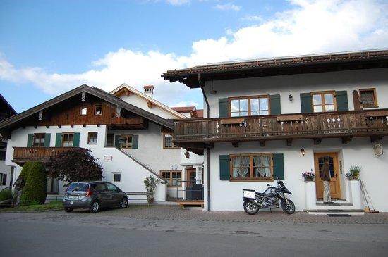 Hotel Ferienhaus Fux: Front of hotel