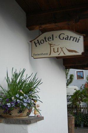 Hotel Ferienhaus Fux: Sign