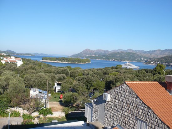 Pervanovo Apartments: Morning view from balcony