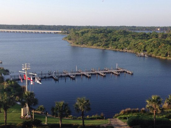 Pinnacle Port Vacation Rentals: View from balcony!