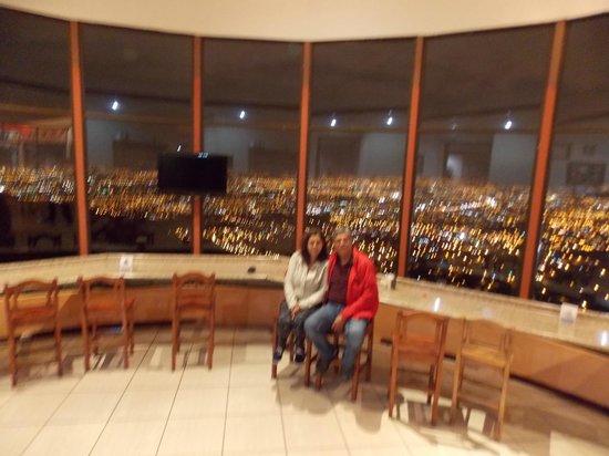 Hotel Linda Vista : Comedor con vista panorámica