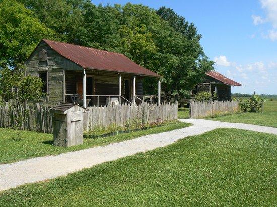 Laura Plantation: Louisiana's Creole Heritage Site: Slave quarters