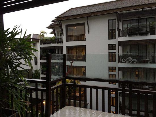 RarinJinda Wellness Spa Resort: View from our 4th floor balcony