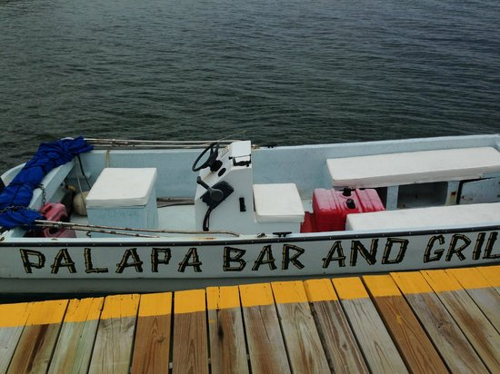 Palapa Bar and Grill: totally advertisement