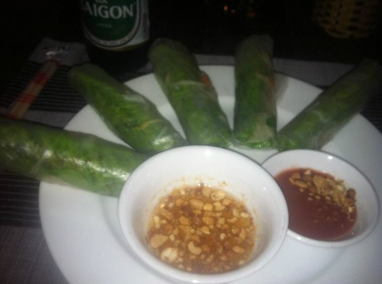 Sea Star Restaurant: Summer rolls!