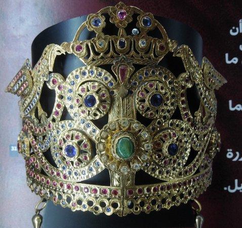 Musée Abderrahman Slaoui: jeweled headpiece
