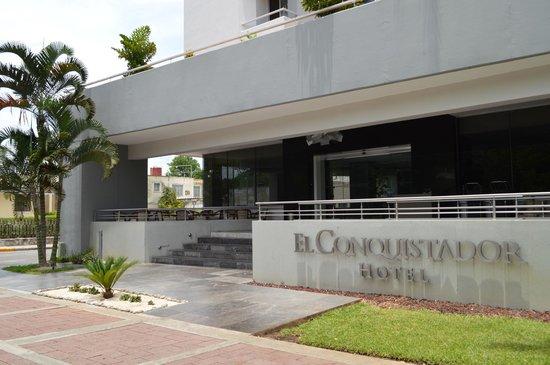 Hotel El Conquistador : Ingreso del hotel