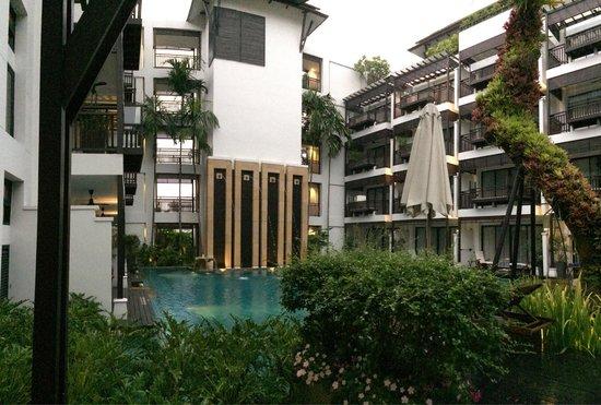 RarinJinda Wellness Spa Resort: Pool view