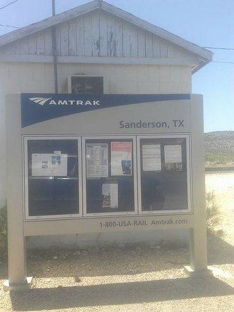 The Sanderson Texas Railroad Terminal