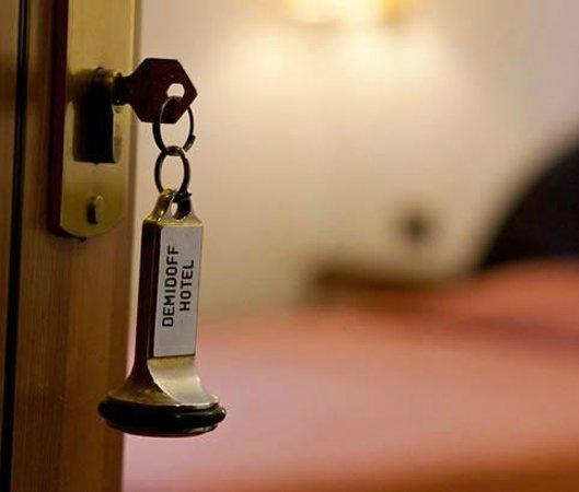 Demidoff Hotel Milano : Chiavi stanza