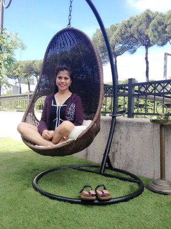 Roseo Hotel Leon D'Oro: Chillaxing!