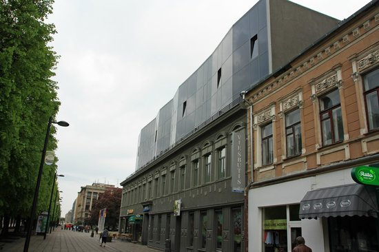 Kaunas City Hotel: Hotel is new area at the top