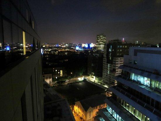 Novotel London Blackfriars: Evening views are slightly better