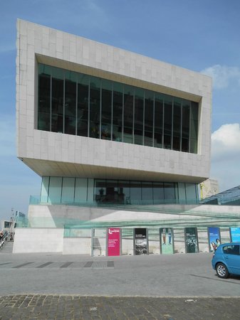 Museum of Liverpool: Outside view of the Museum