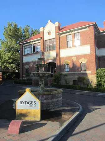 Rydges Hotel Hobart: entrada
