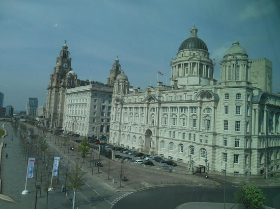 Museum of Liverpool: Looking outside from the Museum