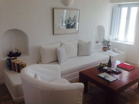 Aria Suites: Rigoletto living room
