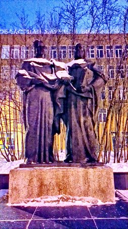 ‪Monument to Saints Cyril and Methodius‬