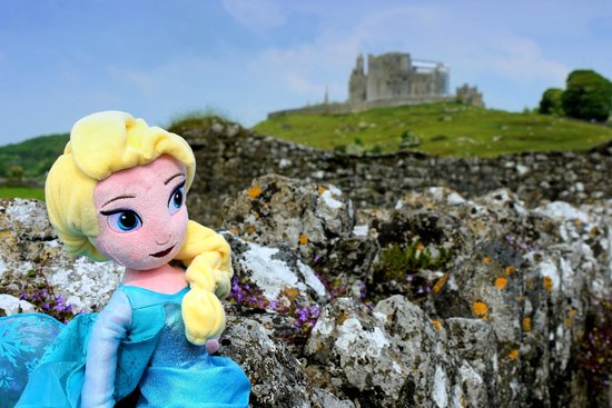 Elsa (for our 4 year old) in Hore Abbey