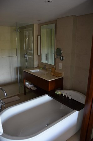 Padma Resort Legian : Very modern bathroom