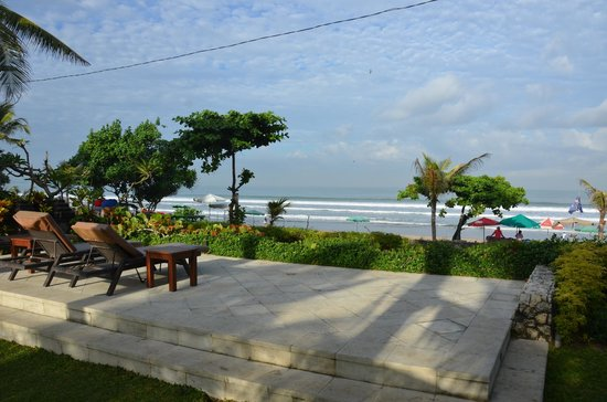 Padma Resort Legian : Overlook of Padma beach