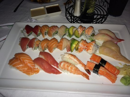 Tokyo bay sushi & grill: Sushi for Two!