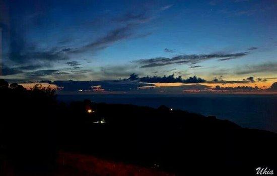 Hotel Semaforo de Bares: Puesta de sol desde la suit