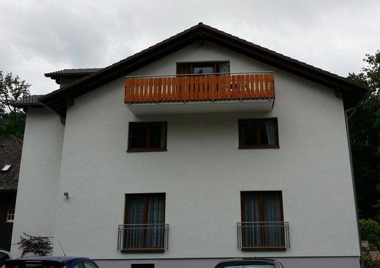 Waldcafé: Waldcafe Balcony Room 9