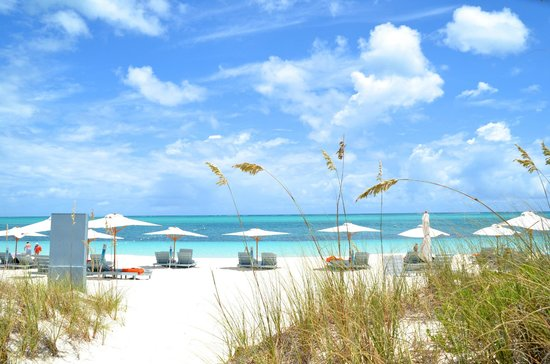 Beach House Turks & Caicos : gorgeous Grace Bay