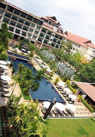 Angkor Miracle Resort & Spa: Inner Courtyard
