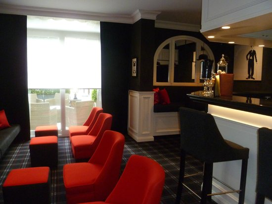 Hotel Prinsenhof Bruges : Bar/Lounging area