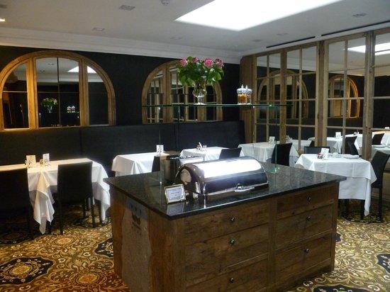 Hotel Prinsenhof Bruges : Dining area