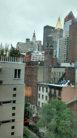 The Hotel @ New York City : Looking out my window