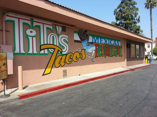 Tito's Tacos: This always feels like home!
