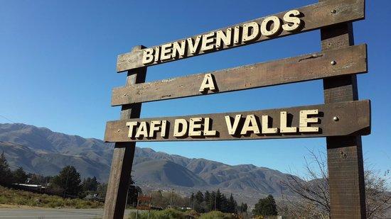 Hosteria Lunahuana : entrada a Tafi del Valle