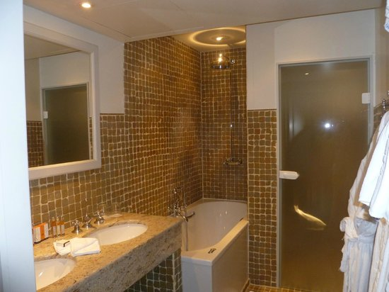 Hotel Prinsenhof Bruges: A view of the shower
