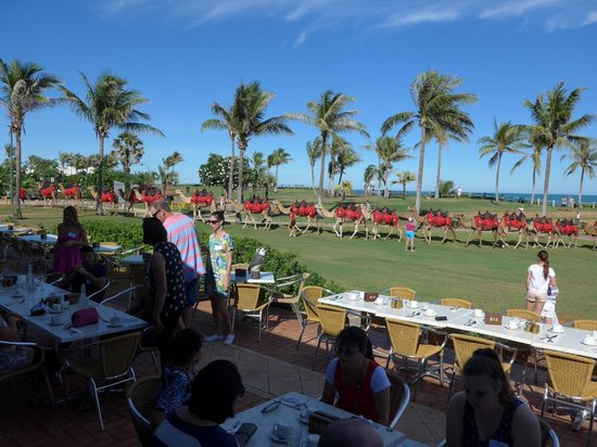 Cable Beach Club Resort & Spa: Sundown bar & grill