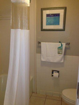 Tahitian Inn Hotel Cafe & Spa: bathroom