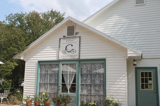 Carriage House Restaurant @ The Myrtles Plantation: The Restaurant