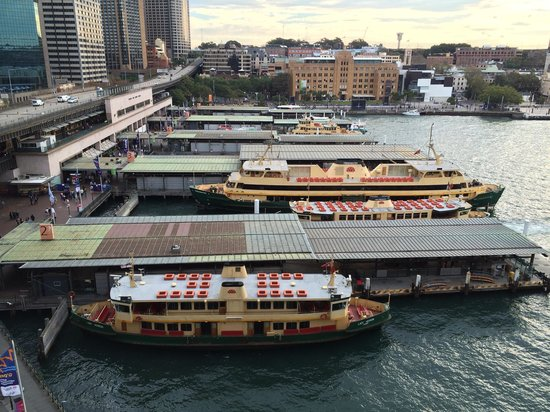 Pullman Quay Grand Sydney Harbour: Always something to see in the quay below