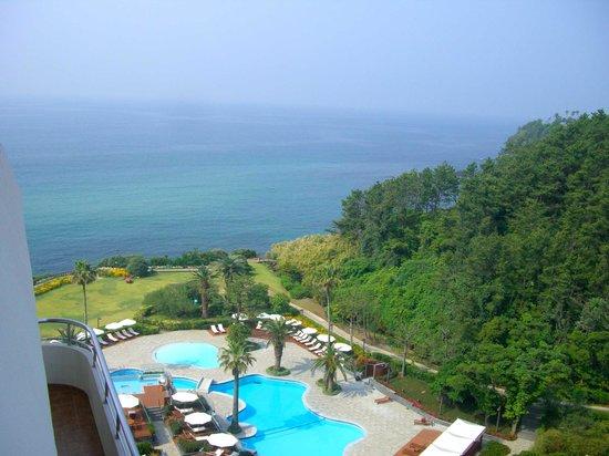 Hyatt Regency Jeju: 12 (partial) ocean view