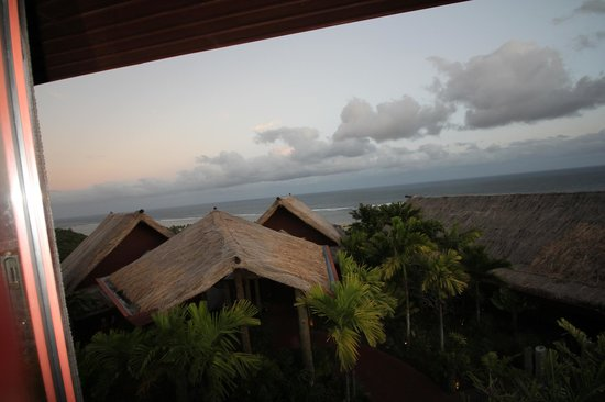 Outrigger Fiji Beach Resort : View from Top of Resort in Bar