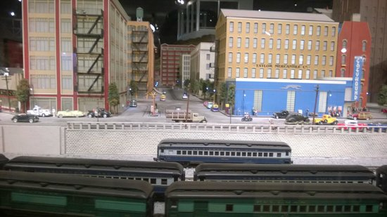 EnterTRAINment Junction : There was a lot of work done to set up all the displays.