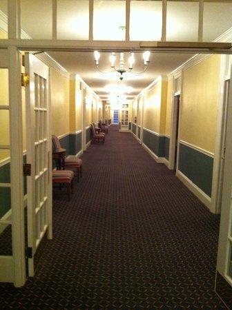 The Otesaga Resort Hotel: the third floor hallway