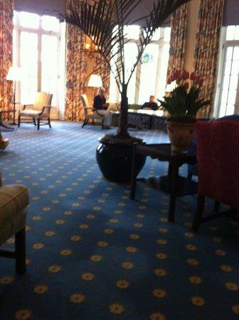The Otesaga Resort Hotel: the lobby
