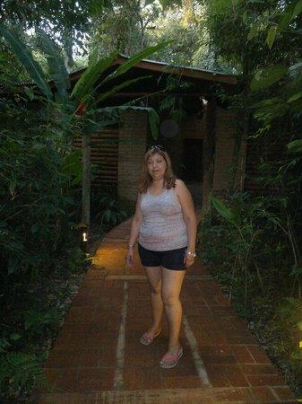 La Aldea de la Selva Lodge: sendero