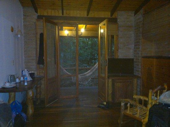 La Aldea de la Selva Lodge: vista al balcon