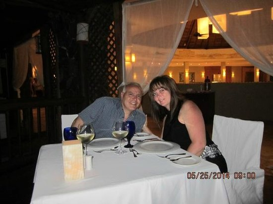 Valentin Imperial Riviera Maya: Our private Anniversary dinner